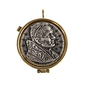 Pyx with Jean Paul II plate s1