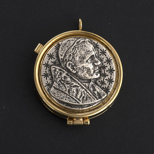 Pyx with Jean Paul II plate 2