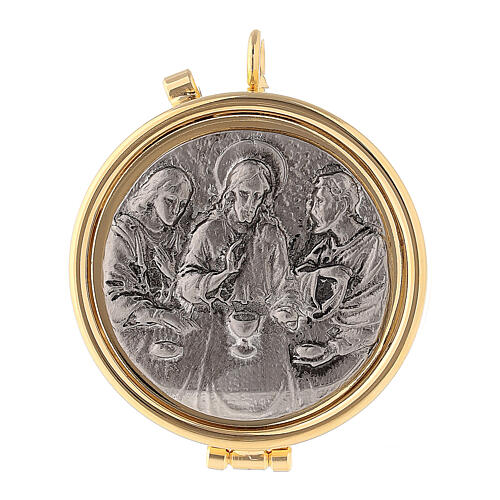 Last Supper silvery pyx 1