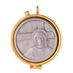 Porta-viático Jesús y cruz s1