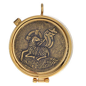 Pyx, silver with Christ 53mm s1