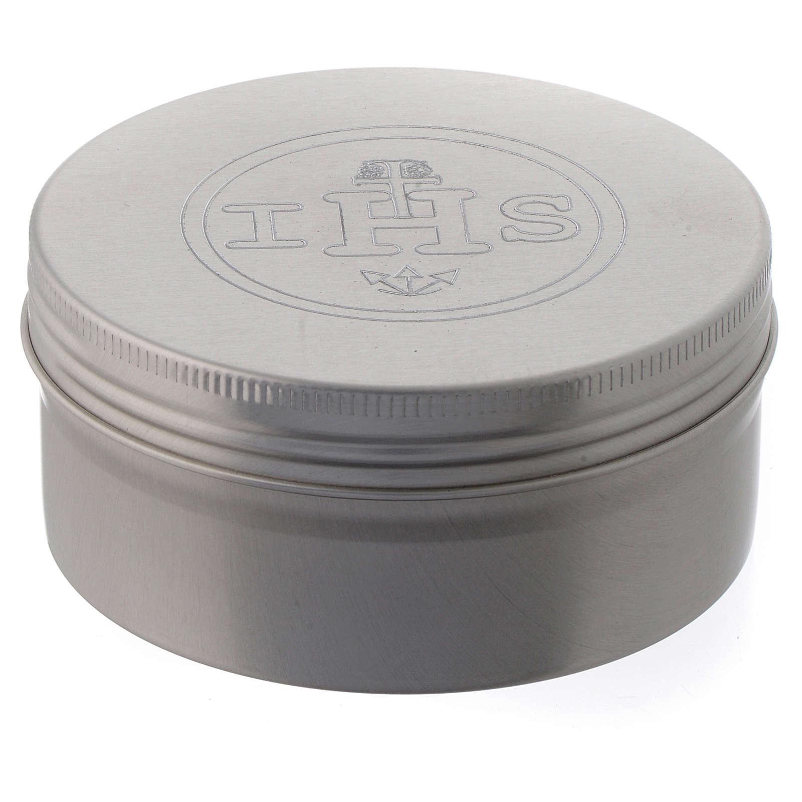 Caixa para hóstias em alumínio 3