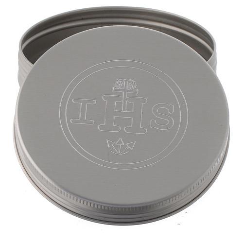Caixa para hóstias em alumínio 2