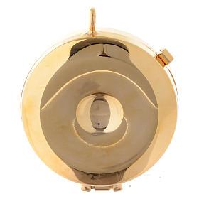 Pyx olive wood plaque chalice design 5cm s3