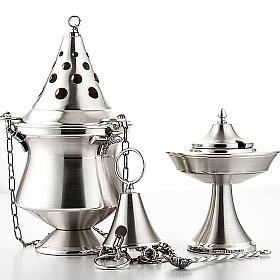 Encensoir et navette argentés s2