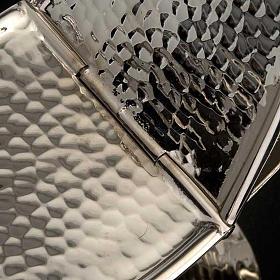 Turibolo e navetta ottone nichelato liscio s5