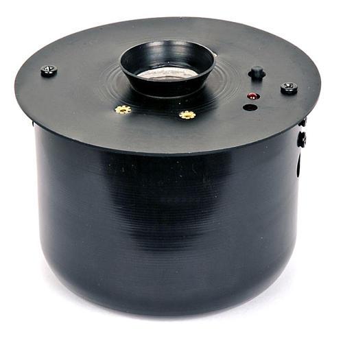 Incensario electrónico negro 8,5x8,5cm 1