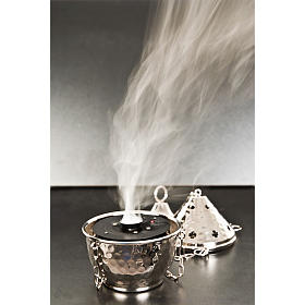 Electronic incense burner for thurible black s3