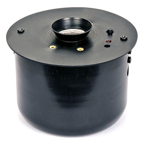 Electronic incense burner for thurible black 1