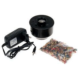 Incensiere elettronico nero per turibolo 7.5X7.5 cm s3