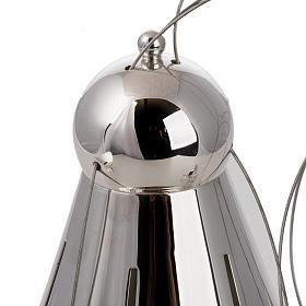 Encensoir conique et navette laiton câbles acier s4