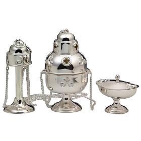 Turibolo e navetta argento 800 s1