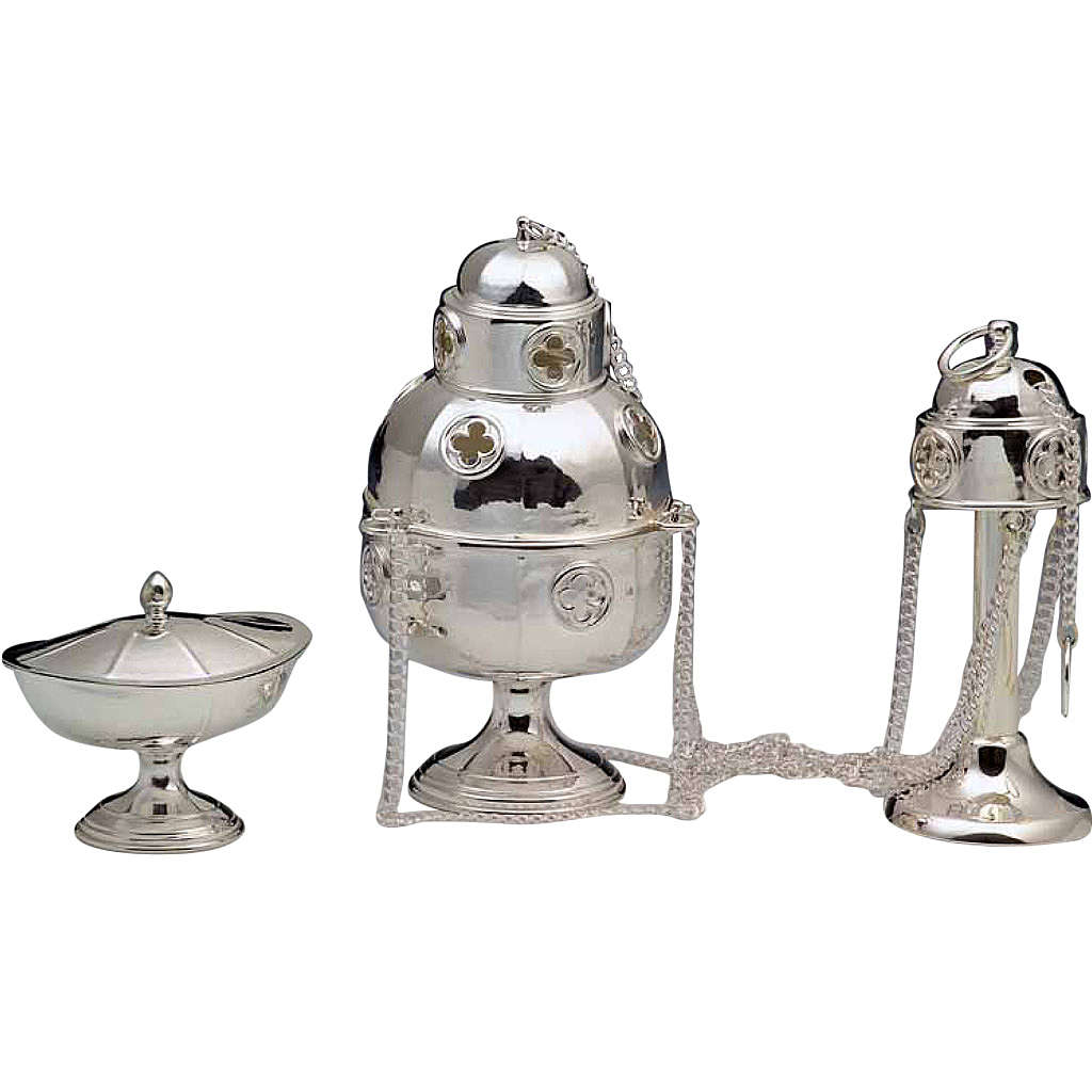 Thurible and Boat made of silver 800 3