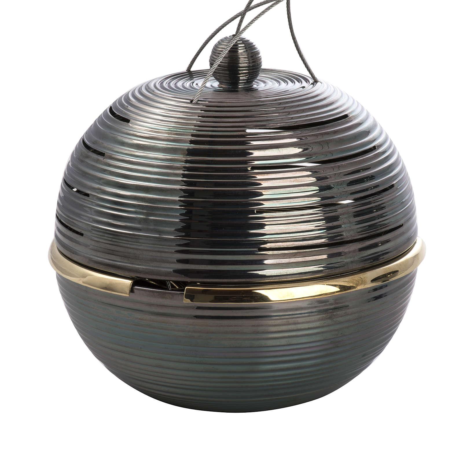 Encensoir Globus avec navette 3