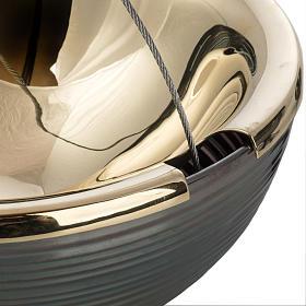 Trybularz Globus z łódką s7