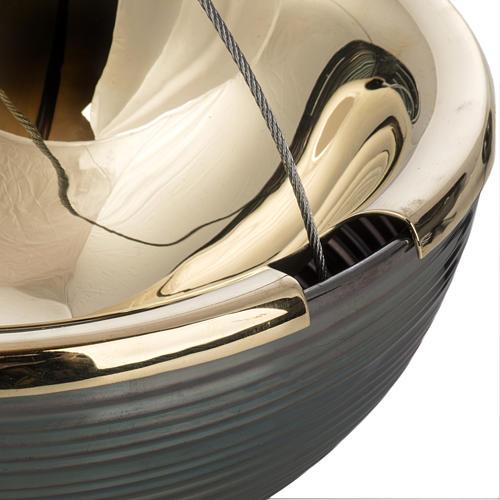 Trybularz Globus z łódką 7