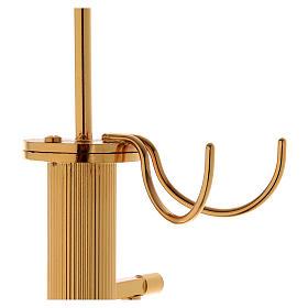 Censer holder in golden brass s4