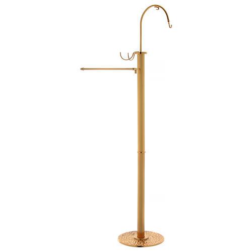 Censer holder in golden brass 1