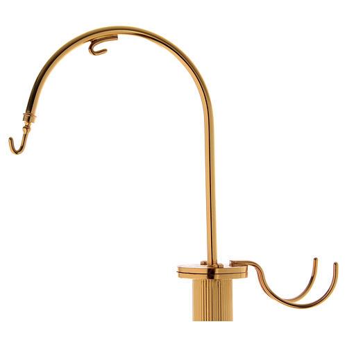Censer holder in golden brass 2