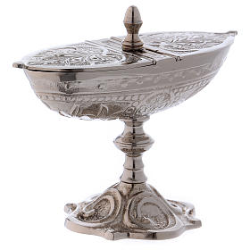 Classic-style censer in silver-plated brass s3