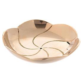 Incensarios y navetas: Escudilla en forma de loto diámetro 8 cm