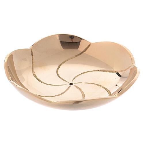 Lotus flower shaped bowl diameter 3 in 1