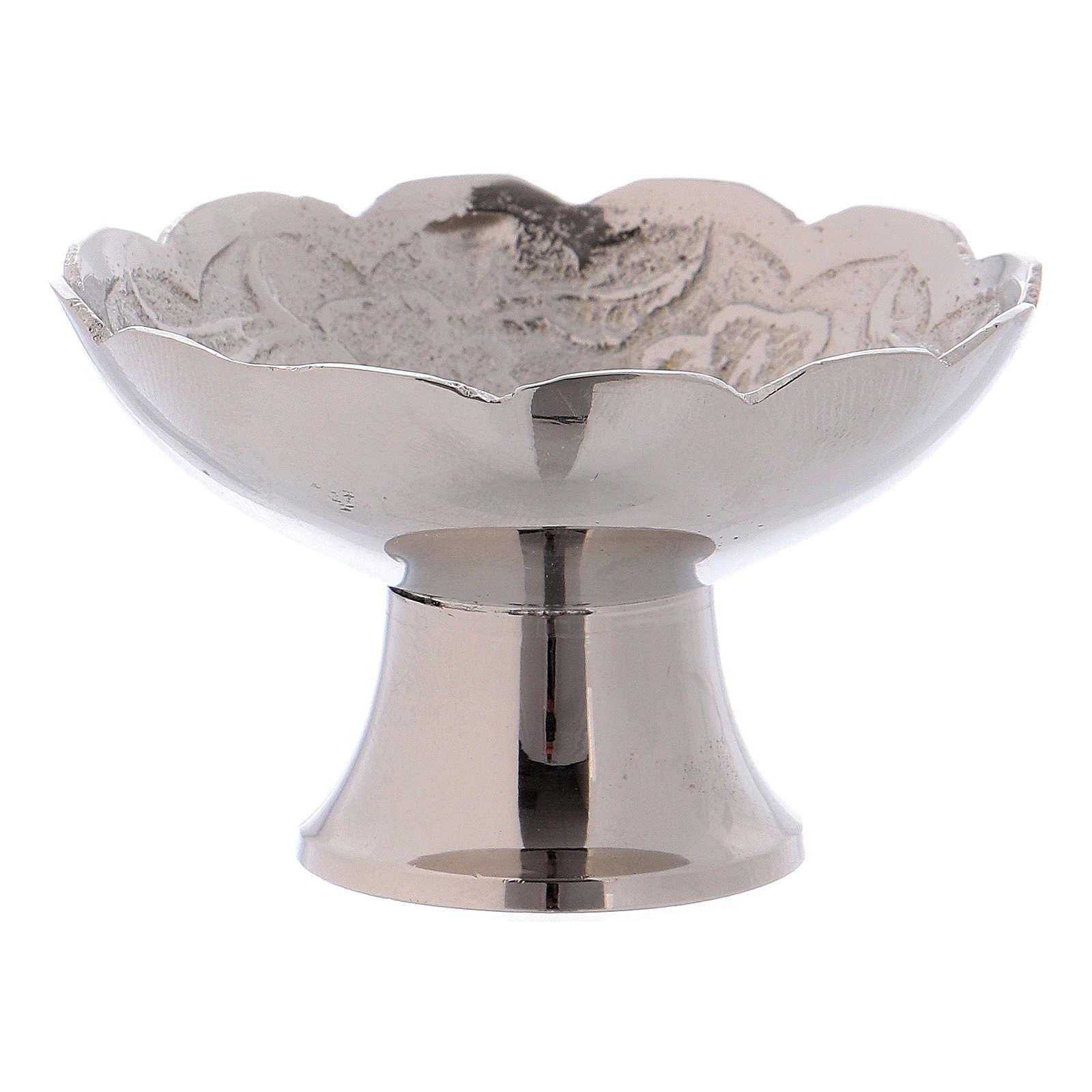 Tigela porta-incenso com base latão diâmetro 5,5 cm 3