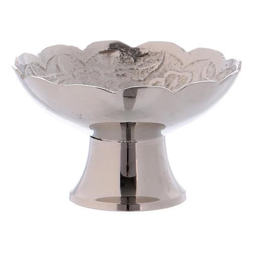 Tigela porta-incenso com base latão diâmetro 5,5 cm 2