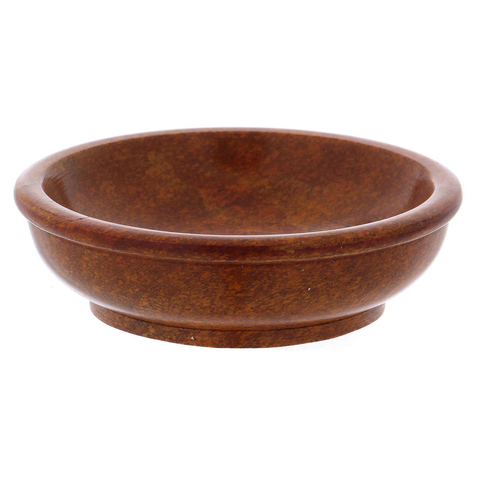 Escudilla incienso piedra ollar color bronce d. 10 cm 3
