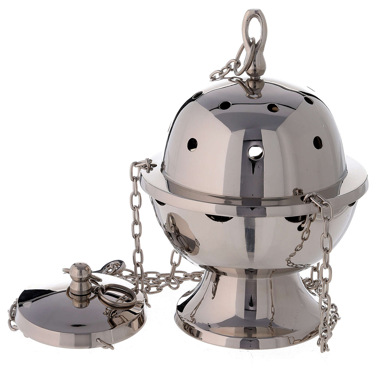 Simple spherical thurible h 9 in 3