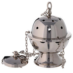 Simple spherical thurible h 9 in s1