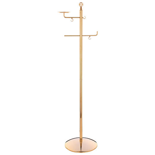 Thurible stand in gold plated brass 1