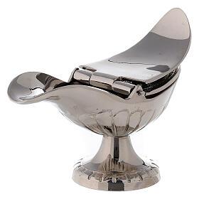 Turibolo in ottone tono argento  s4
