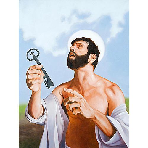Quadro Apostolo San Pietro 1