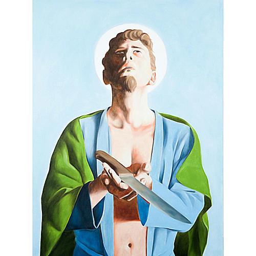 Quadro Apostolo San Bartolomeo 1
