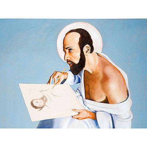 Quadro San Luca Evangelista 1