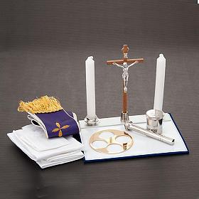 Podróżny zestaw liturgiczny z amplifikatorem, walizka s4