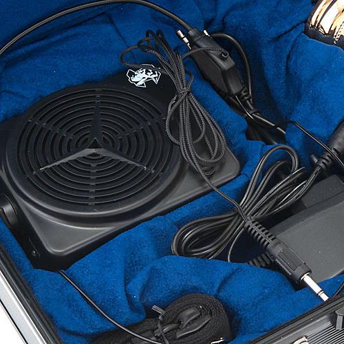 Podróżny zestaw liturgiczny z amplifikatorem, walizka 6