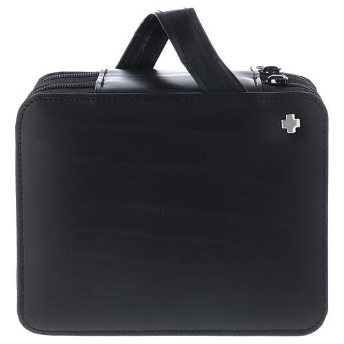 Mass kit soft leather bag 17