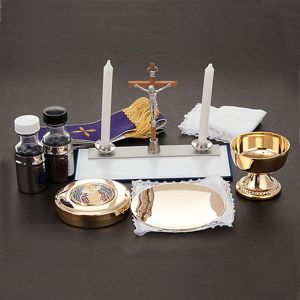 Podróżny zestaw liturgiczny, futerał, skóra 3