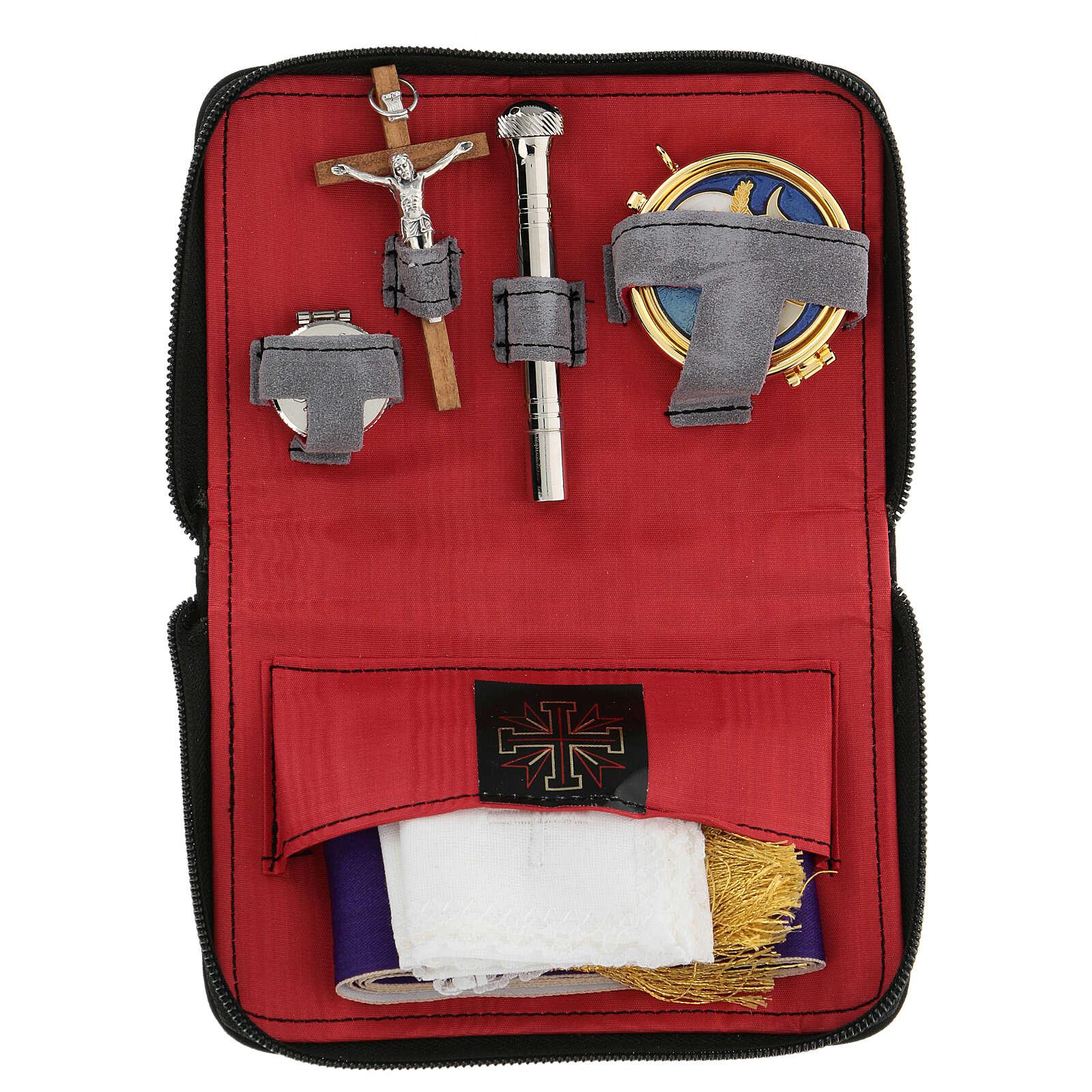 Sick call set leatherette wallet 3
