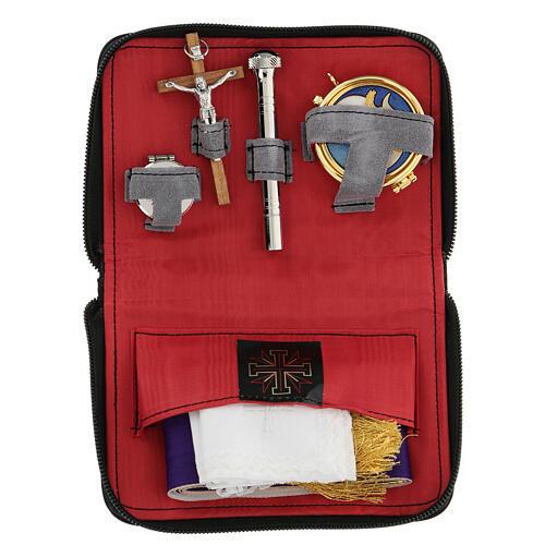 Sick call set leatherette wallet 1