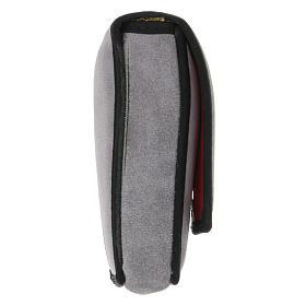 Estuche altar gamuzado gris con bolsillo s11