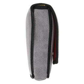 Completo per viatici scamosciato grigio e tasca s11