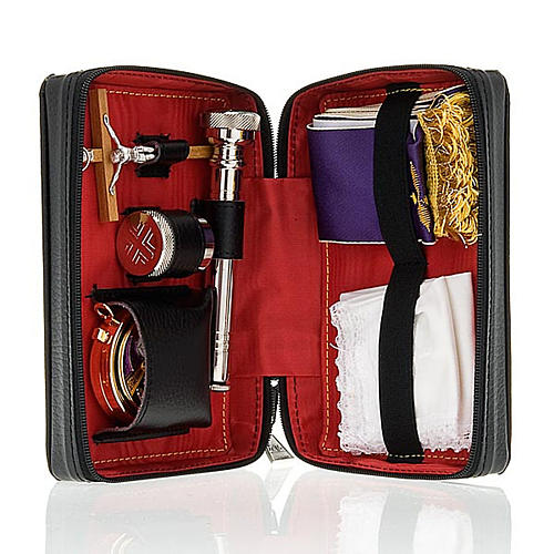 Viaticum and Eucharistic set leather case 1