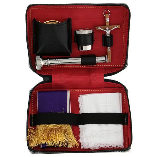 Viaticum and Eucharistic set leather case 1