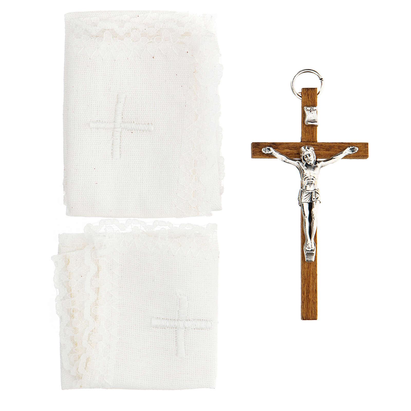 Viaticum set leather case with altar 3