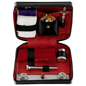 Viaticum set leather case with altar s1