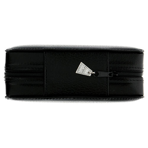 Viaticum set leather case with altar 12