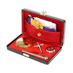 Bursy i zestawy podróżne dla księdza: Bursa sztywna walizka z kieszonką na wiatyk